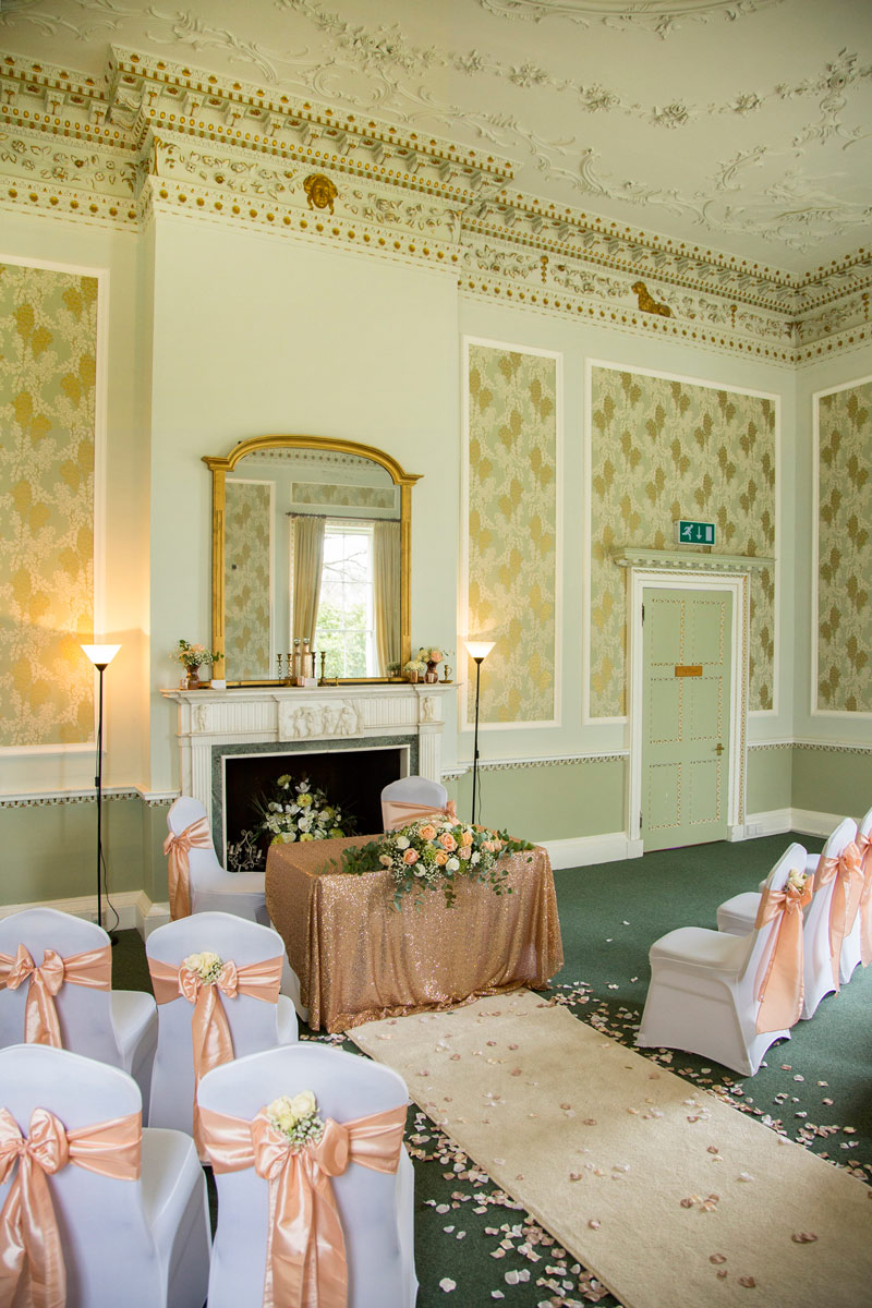 The Drawing Room at Merley House