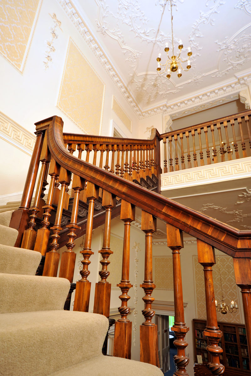 Staircase at Merley House