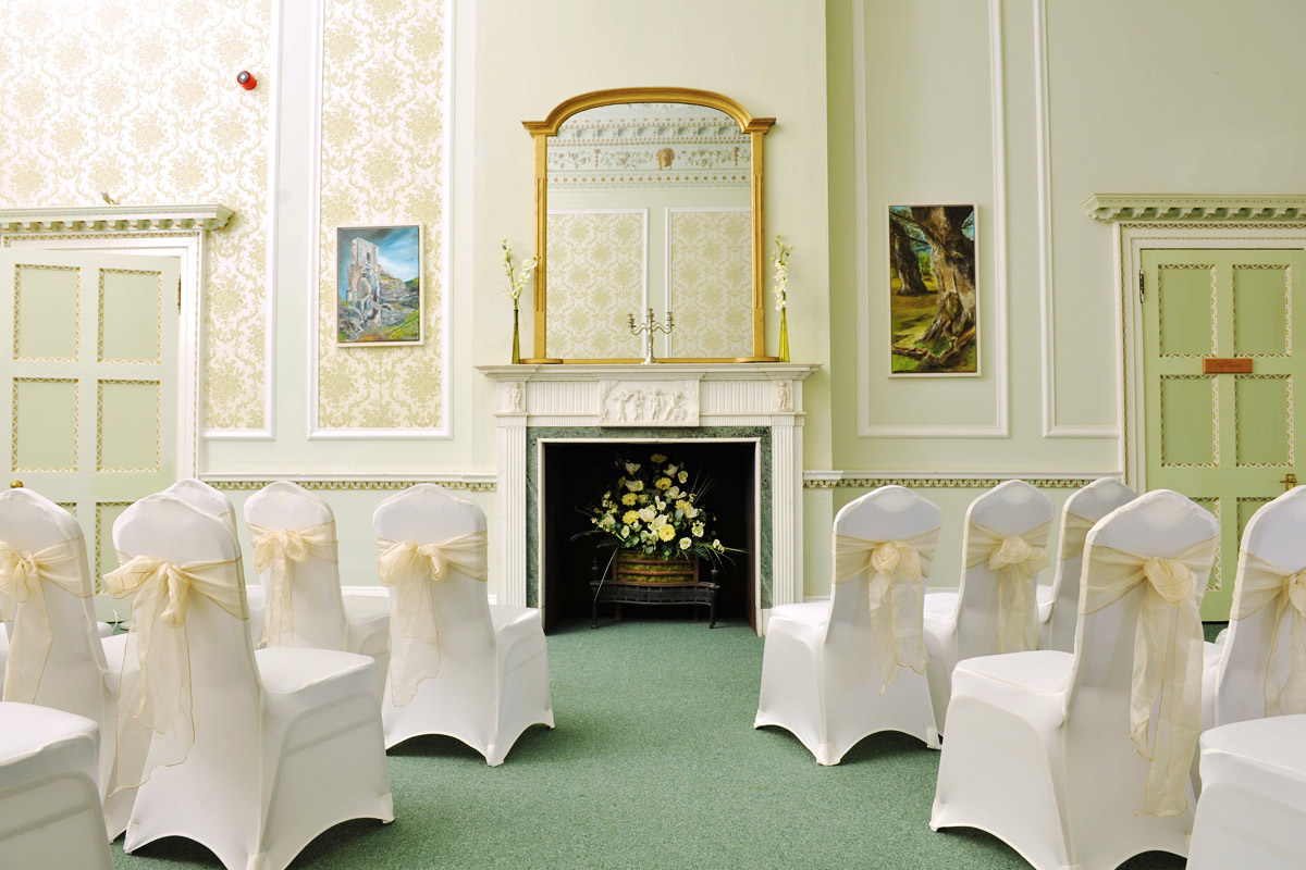 The Drawing Room, Merley House Wedding Venue