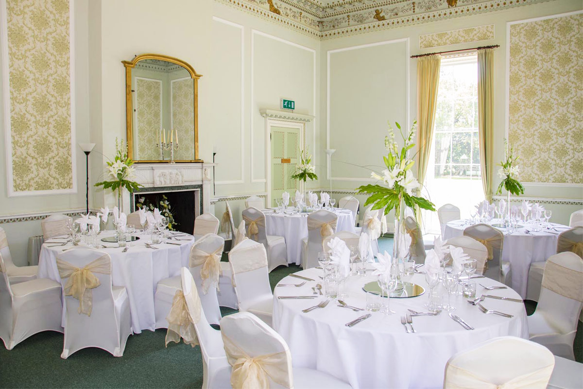 Merley House Function Venue in Dorset, The Drawing Room