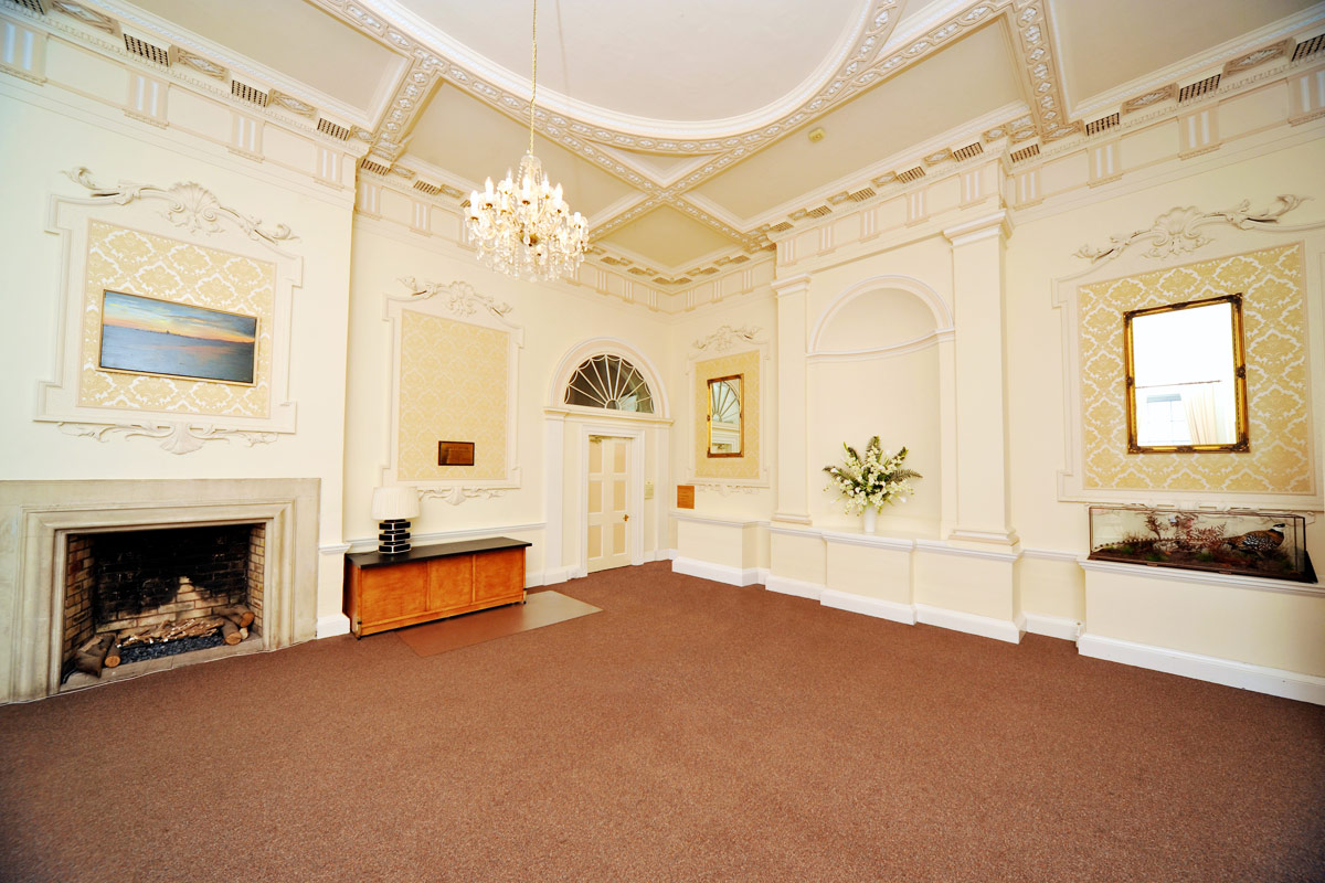 The Grand Entrance Hall, Merley House Wedding Venue